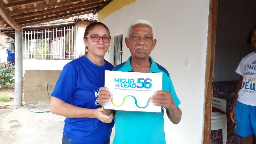 Programação do Aniversário de Miguel Leão começou com Alvorada na cidade