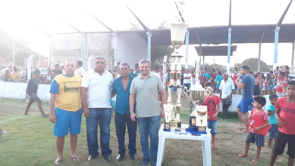 Faveral Campeão do II Campeonato Municipal de Futebol de Miguel Leão Taça Altamiro de Arêa Leão