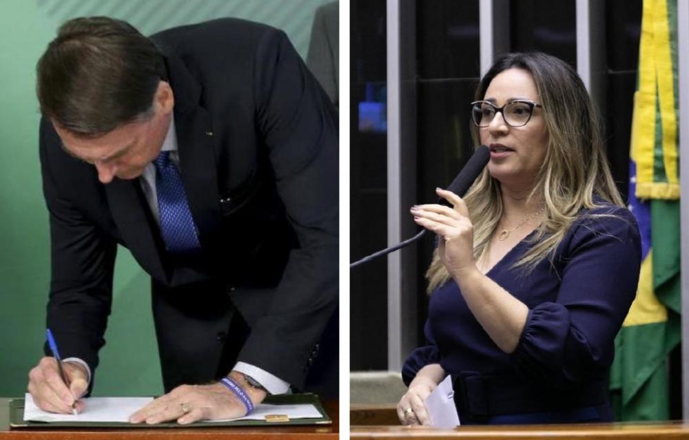 Presidente Bolsonaro sanciona Lei criada pela deputada Rejane Dias
