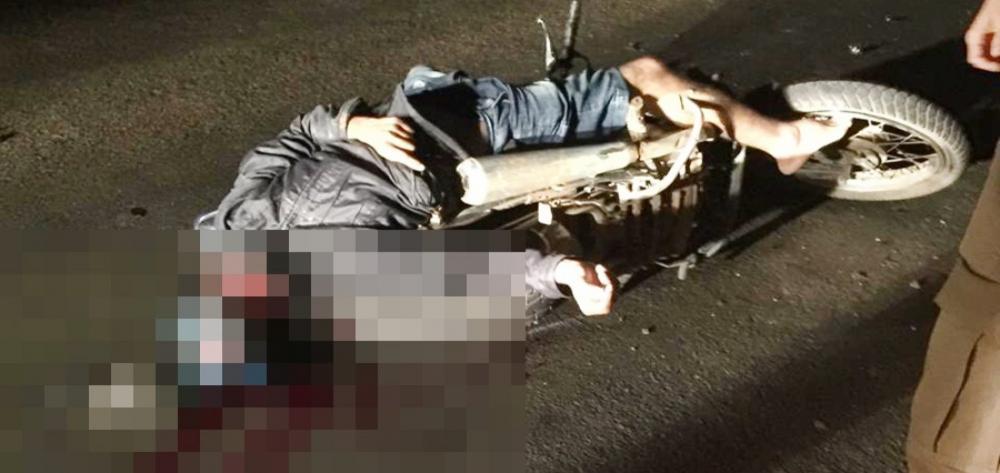 Piauiense morre em colisão entre motocicleta e trator no Pernambuco