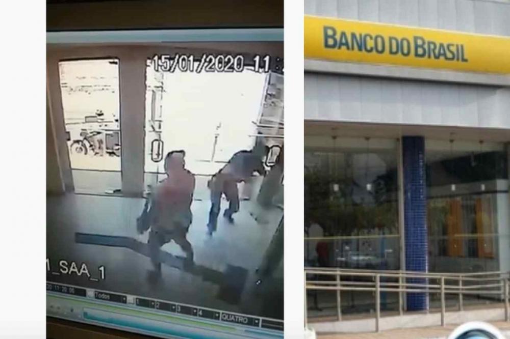 Mulher é atingida por tiro durante assalto a banco no Piauí