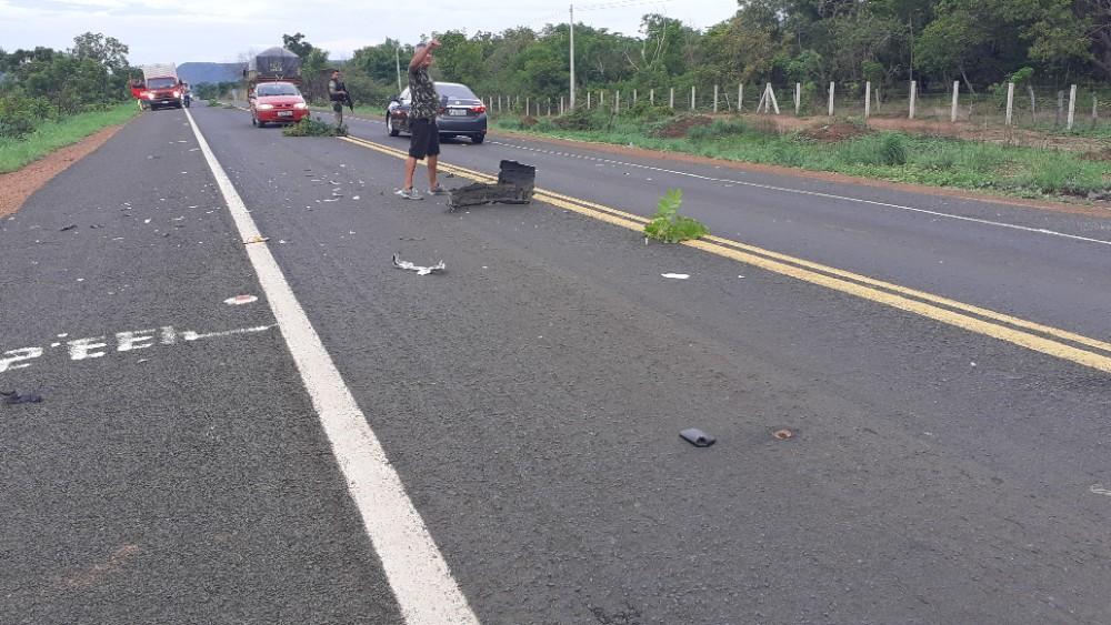 Acidente na BR 343 deixa vitima Fatal na Localidade Tocador em Lagoinha do Piauí