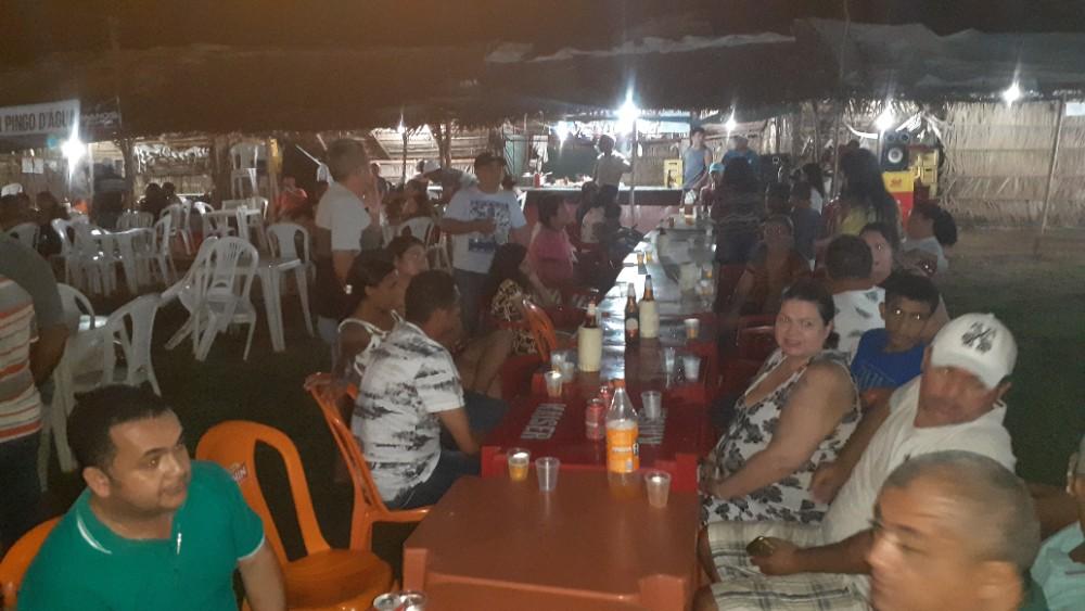 Kelly Alencar e Walter Alencar prestigiam o Festejo de São Sebastião em Lagoinha