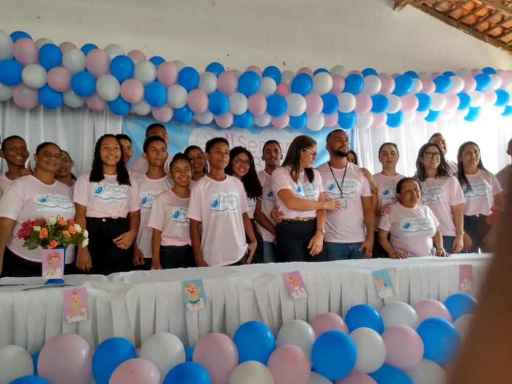 Prefeitura de Miguel Leão realiza a II Semana do Bebê no Município
