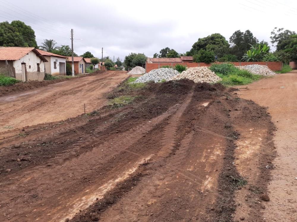 Prefeitura de Agricolândia inicia Obra de Calçamento em Ruas do centro da Cidade