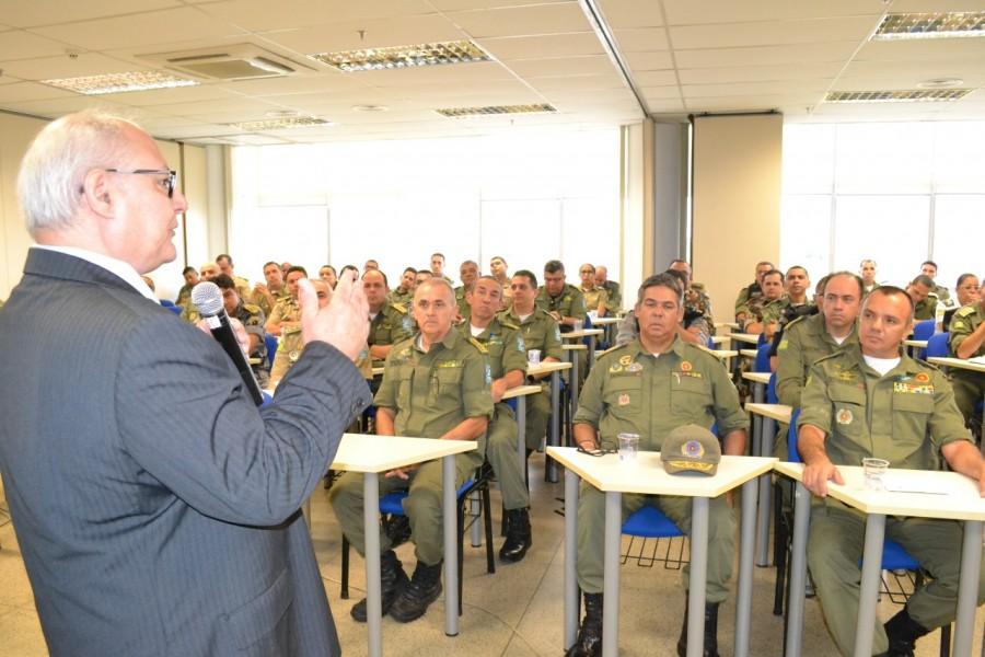 Cabo Giordano da Força Tática Participou do 1º Workshop da Policia militar do Piauí