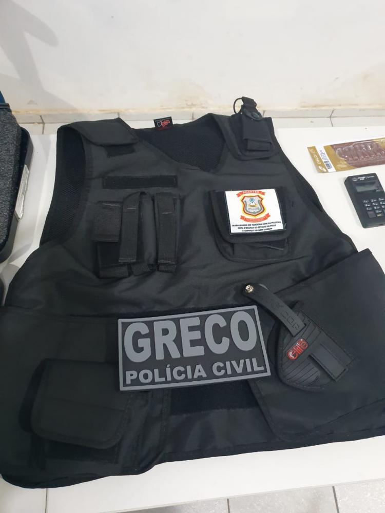 Falso delegado é preso durante operação do Greco