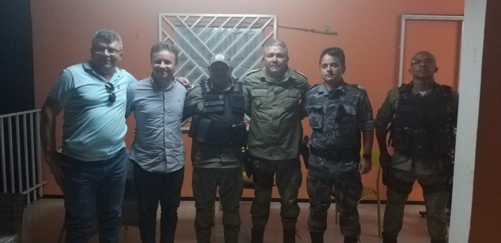 Comandante do 18º BPM monta estratégia de Segurança para o Zé Pereira de São Pedro