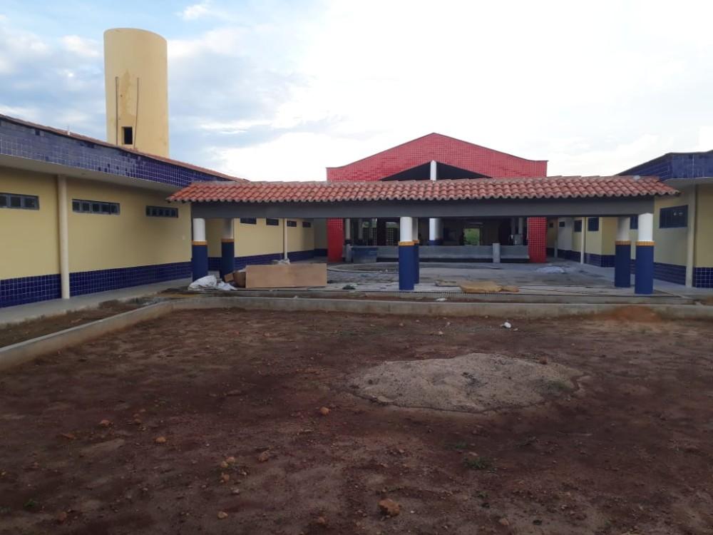 Prefeitura de Agricolândia Conclui construção da Creche Modelo Padrão FNDE