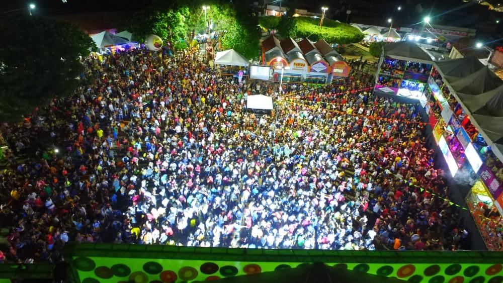 Veja como foi a Primeira Noite do Carnaval de Água Branca 2020