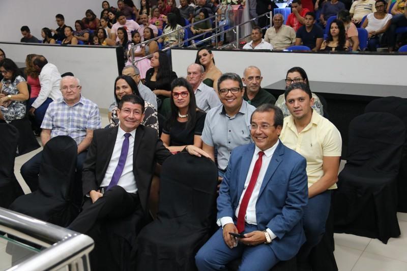 Vice-prefeito Nen Motos participou da Abertura do Ano Legislativo 2020 em Água Branca