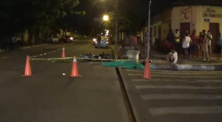 Agente de portaria morre após colisão entre veículo e moto