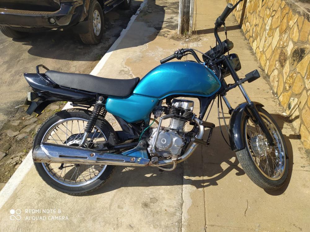 GPM de Agricolândia recupera Motocicleta com documentação Fria