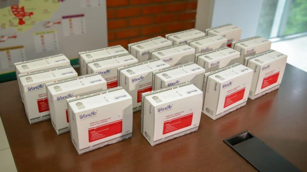 Testes de Covid-19 roubados do Amostragem são avaliados em R$ 300 mil