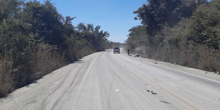 Motorista de caminhão morre após veículo capotar em colisão no Piauí