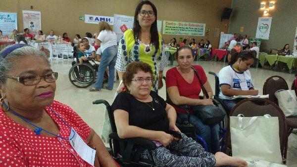 Equipe de Lagoinha participa da IV conferência Estadual da Pessoa com Deficiência