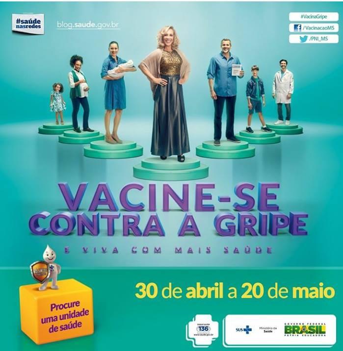 Vacinação Contra a Gripe em Lagoinha do Piauí
