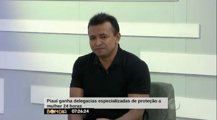 Fábio Abreu anuncia criação de Central de Flagrantes feminina